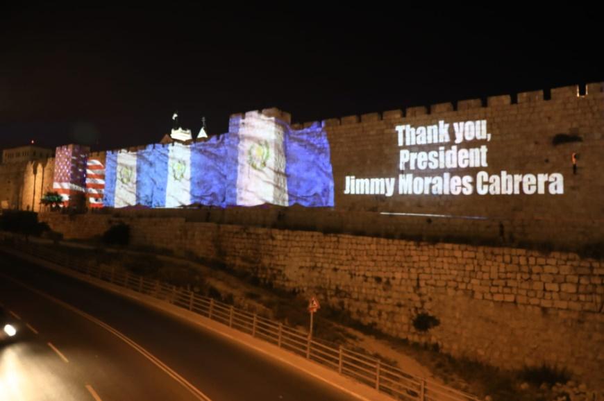 Guatemala se convirtió en el segundo país en abrir embajada en Jerusalén