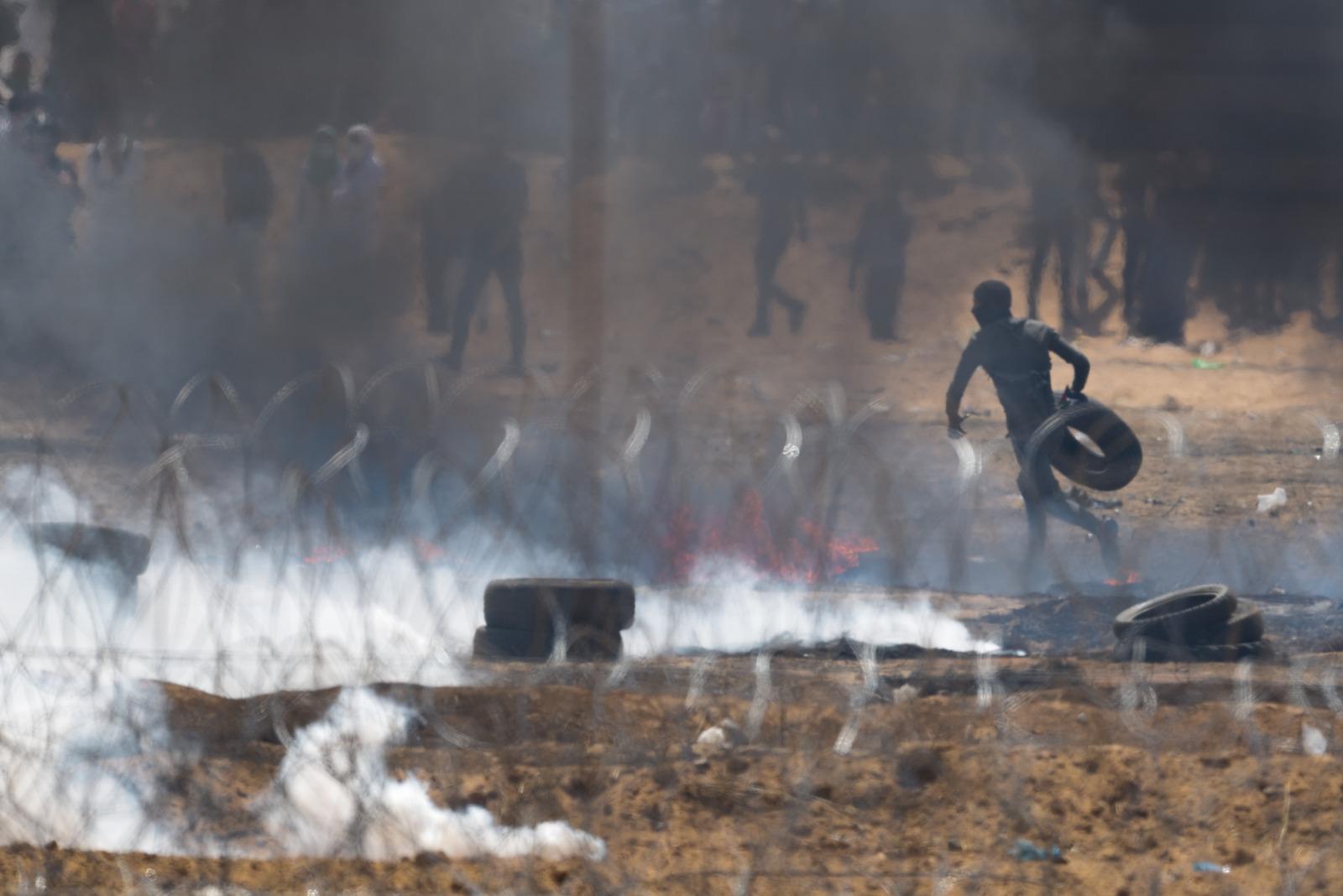 Huelga general y protestas en Gaza por traslado de Embajada EEUU a Jerusalén