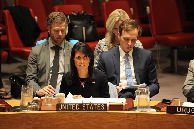 EEUU convoca al Consejo de Seguridad por los ataques de Gaza contra Israel