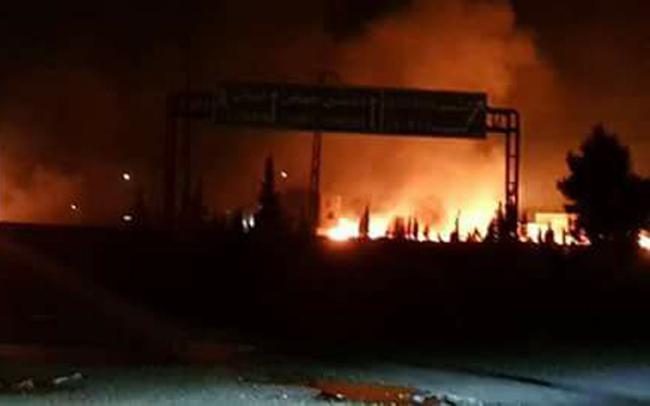 Siria: Israel bombardeó una base militar usada por Irán