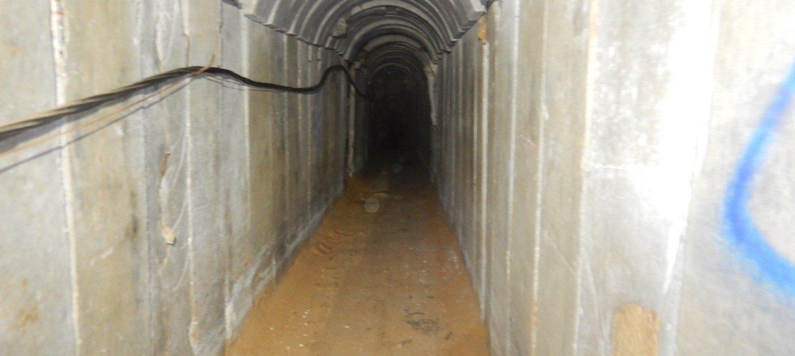 Israel destruye un túnel de Hamás que penetraba 900 metros en su territorio