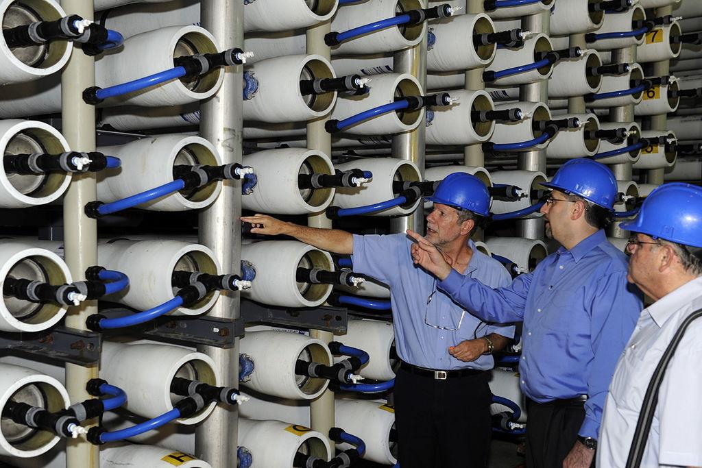 Israel construirá nuevas plantas desalinizadoras para hacer frente a la sequía