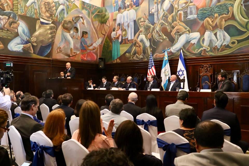 Congresistas de Guatemala y EEUU reiteran su defensa de Israel
