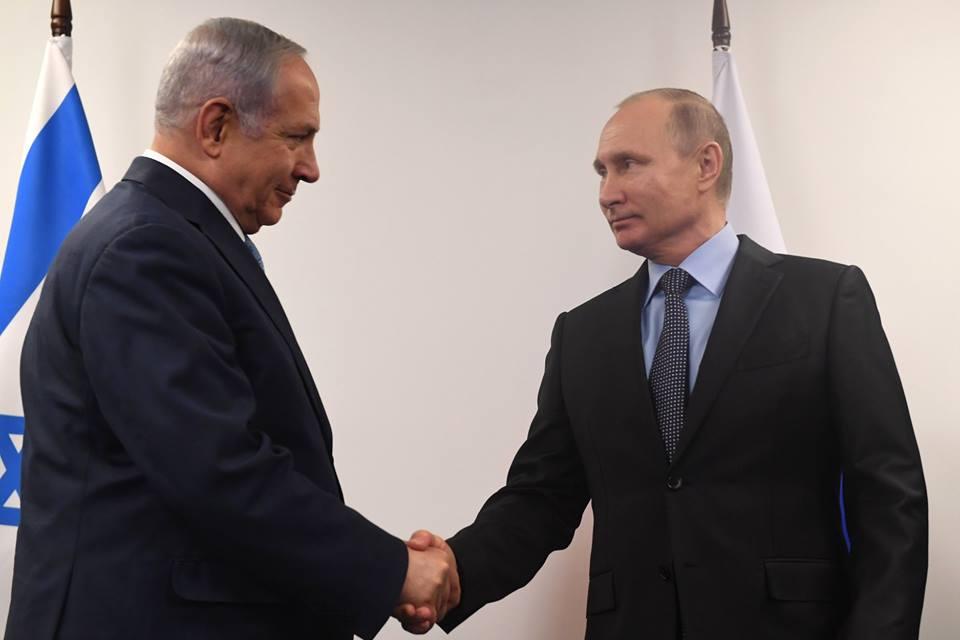 Netanyahu y Putin abordarán mañana la situación en Siria y Oriente Medio
