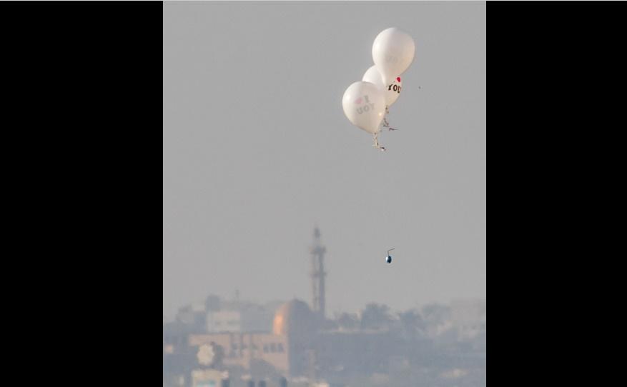 Israel confisca decenas de miles de globos destinados a Gaza