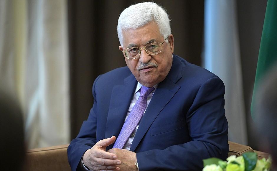 Abbas reitera rechazo a plan de paz de EEUU para Medio Oriente