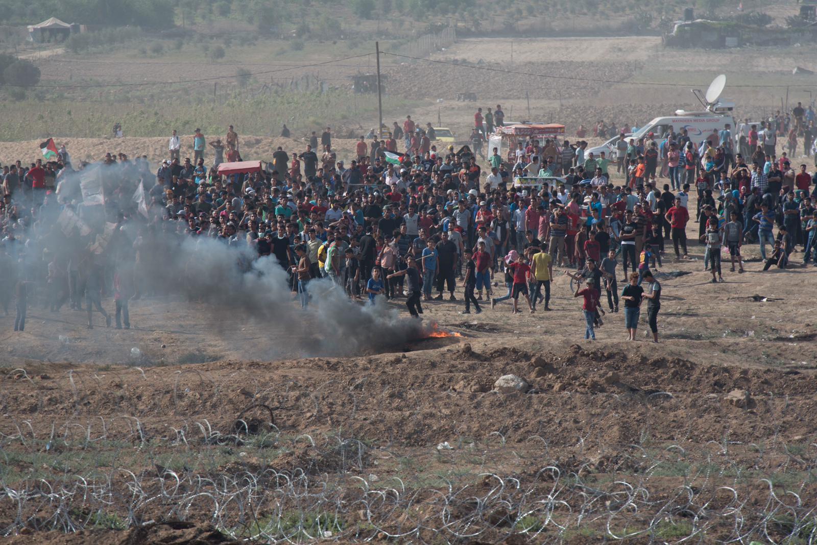 Fin de semana tenso en Gaza: decenas de explosivos contra soldados israelíes y 7 palestinos muertos