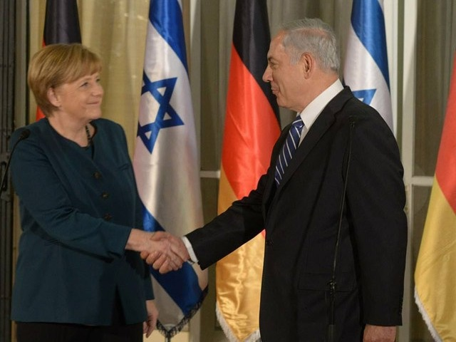 Merkel volverá a abogar en Israel por la solución de dos estados