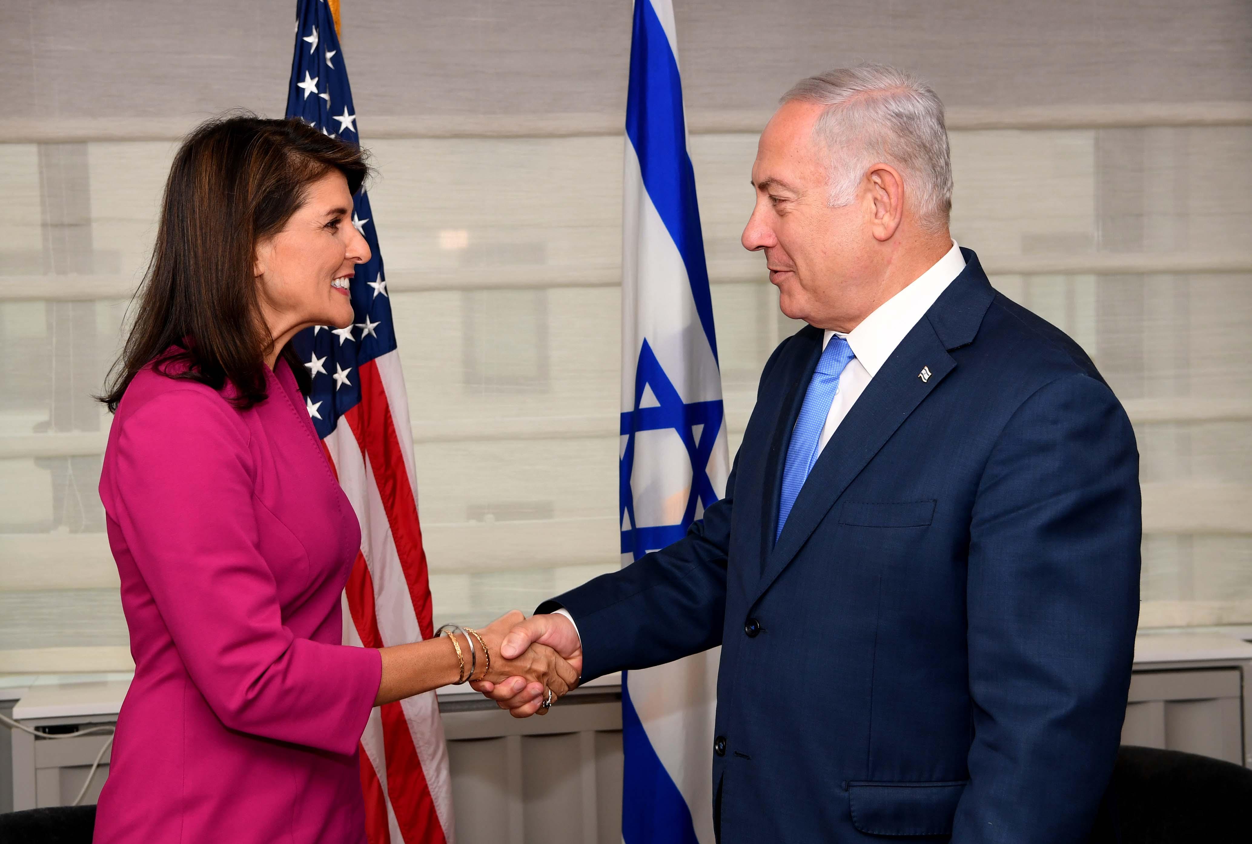"""Israel se despide de una amiga en la ONU: """"Gracias por lo que hiciste por Israel"""""""