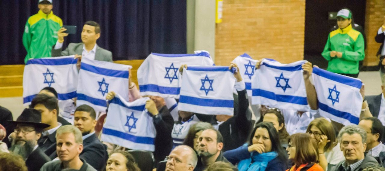 Centenares de cristianos colombianos realizaron evento para bendecir a Israel