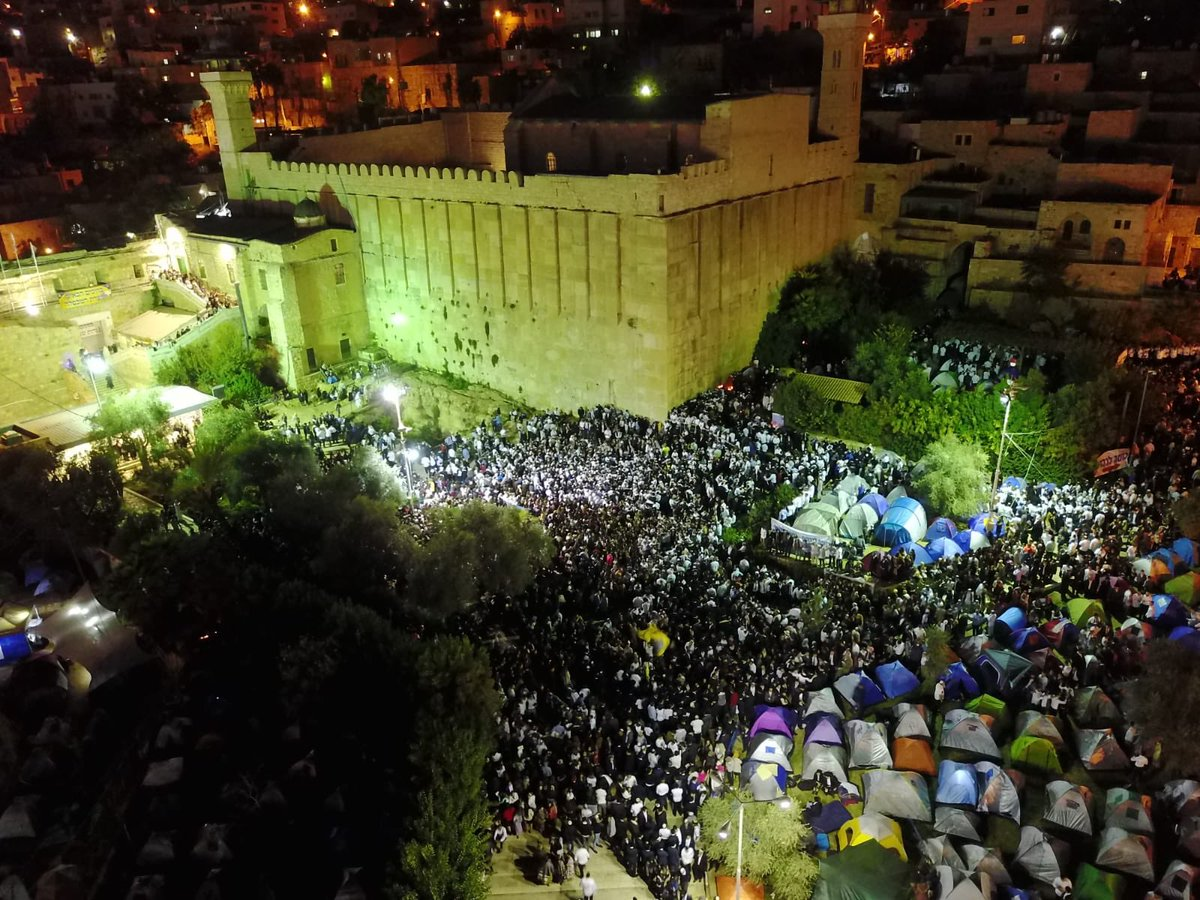 40.000 judíos visitan Hebrón para recordar a la matriarca Sara