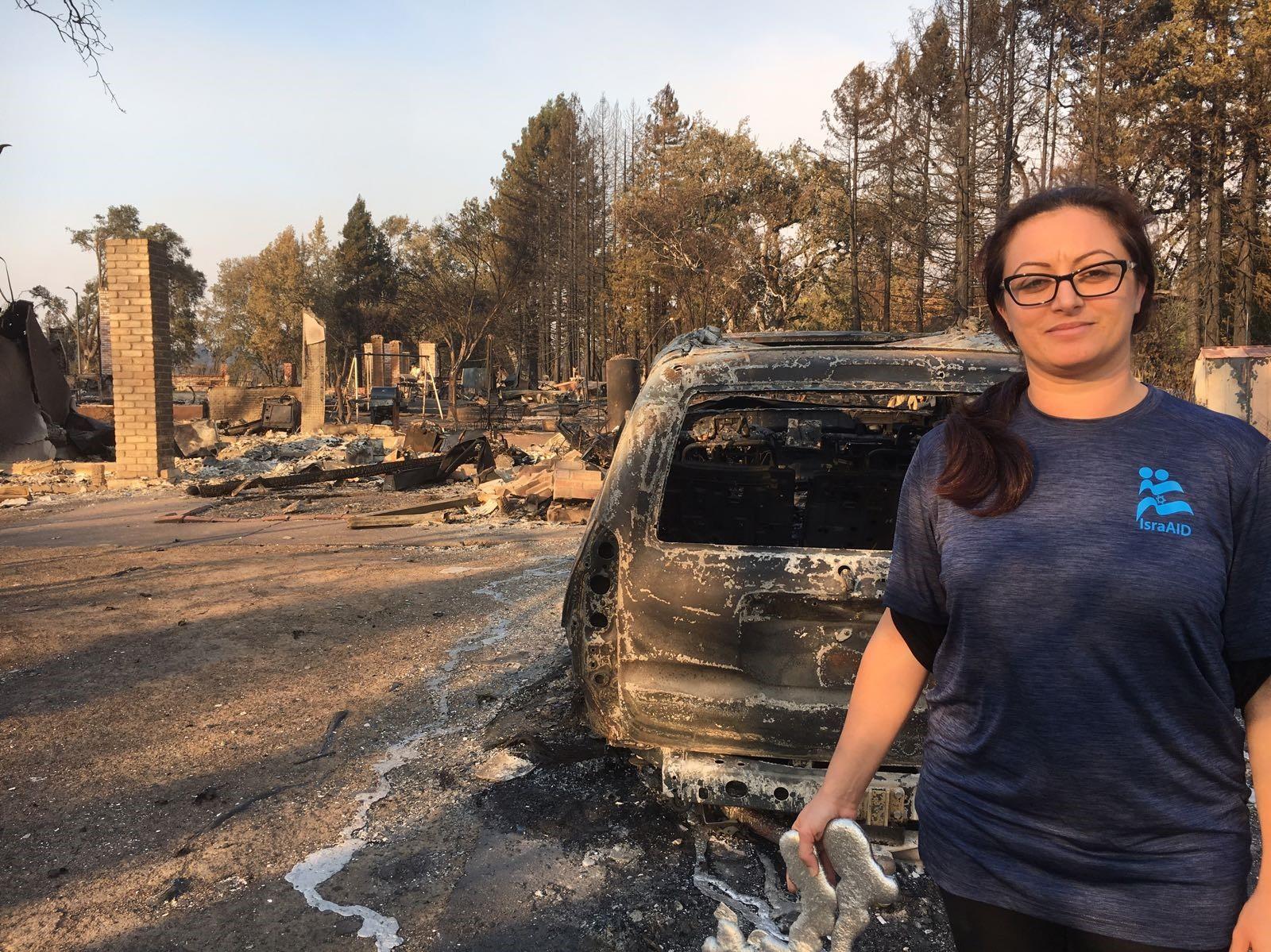 Organización israelí auxiliará a los evacuados por incendios forestales en California