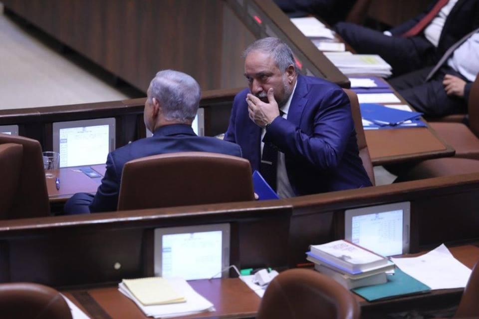 Benjamín Netanyahu y Avigdor Liberman